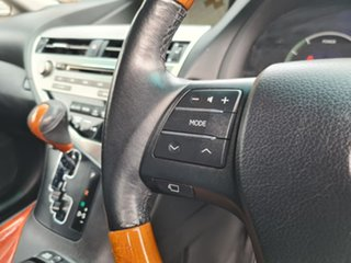 2010 Lexus RX GYL15R RX450h Sports Luxury Black 1 Speed Constant Variable Wagon Hybrid
