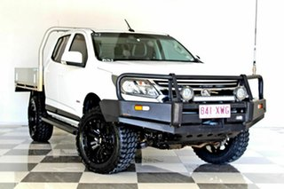 2018 Holden Colorado RG MY18 LS (4x4) White 6 Speed Automatic Crew Cab Chassis.