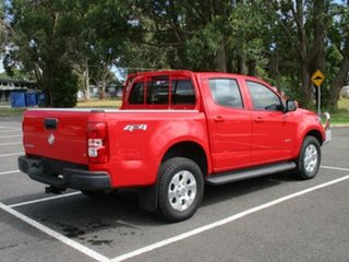 2016 Holden Colorado RG Turbo LT 4x4 Red Automatic PICKUP CREWCAB.