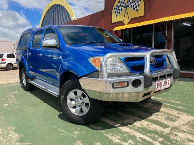 Used Toyota Hilux KUN26R MY05 SR5 Toowoomba, 2006 Toyota Hilux KUN26R MY05 SR5 Blue 4 Speed Automatic Utility