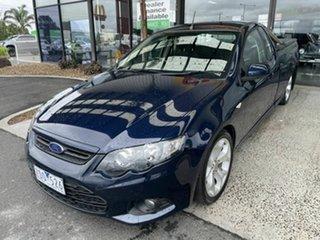 2012 Ford Falcon FG MK2 XR6 Blue 6 Speed Auto Seq Sportshift Utility.