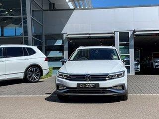 2021 Volkswagen Passat 3C (B8) MY21 Alltrack DSG 4MOTION 162TSI Premium White 7 Speed.