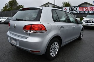 2012 Volkswagen Golf VI MY12.5 90TSI DSG Trendline Silver 7 Speed Sports Automatic Dual Clutch