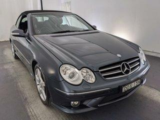 2008 Mercedes-Benz CLK-Class A209 MY08 CLK280 Avantgarde Grey 7 Speed Automatic Cabriolet.