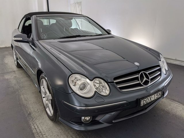 Used Mercedes-Benz CLK-Class A209 MY08 CLK280 Avantgarde Maryville, 2008 Mercedes-Benz CLK-Class A209 MY08 CLK280 Avantgarde Grey 7 Speed Automatic Cabriolet