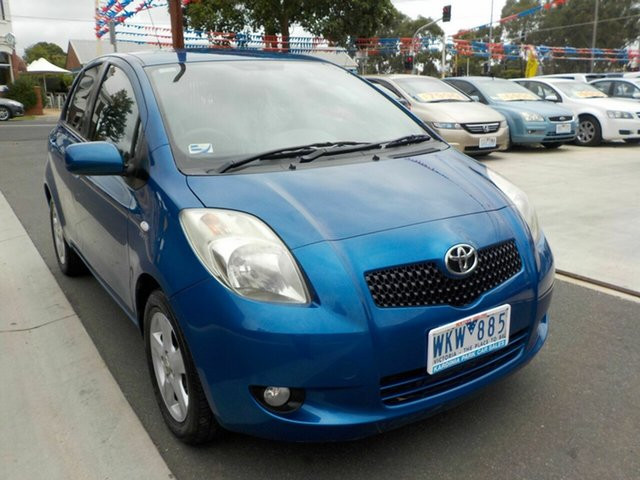 Used Toyota Yaris NCP90R Rush Newtown, 2008 Toyota Yaris NCP90R Rush Blue 4 Speed Automatic Hatchback