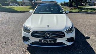 2020 Mercedes-Benz E-Class W213 801MY E300 9G-Tronic e Designo Diamond White Bright 9 Speed.