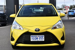 2019 Toyota Yaris NCP130R Ascent Yellow 4 Speed Automatic Hatchback