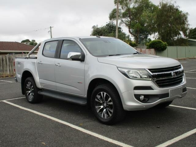 Used Holden Colorado LTZ Timboon, 2017 Holden Colorado RG Turbo LTZ Silver Automatic CREWCAB UTILITY