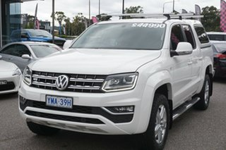 2017 Volkswagen Amarok 2H MY17 TDI550 4MOTION Perm Highline Candy White 8 Speed Automatic Utility