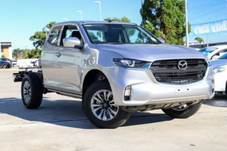 2021 Mazda BT-50 B30B XT (4x2) Ingot Silver 6 Speed Automatic Freestyle Cab Chassis.
