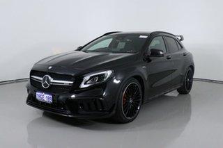 2017 Mercedes-AMG GLA 45 AMG 4MATIC X156 MY17 Black 7 Speed Auto Dual Clutch Wagon.