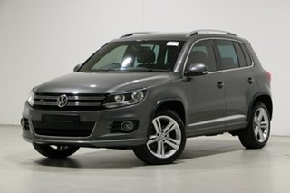 2015 Volkswagen Tiguan 5NC MY15 155 TSI R-Line (4x4) Grey 7 Speed Auto Direct Shift Wagon.