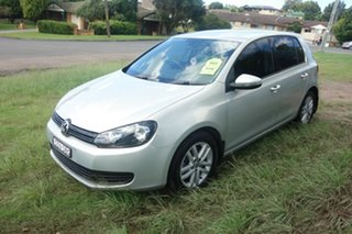 2011 Volkswagen Golf VI MY11 118TSI Comfortline Silver 6 Speed Manual Hatchback.