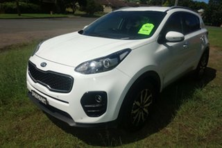 2017 Kia Sportage QL MY17 SLi 2WD White 6 Speed Sports Automatic Wagon