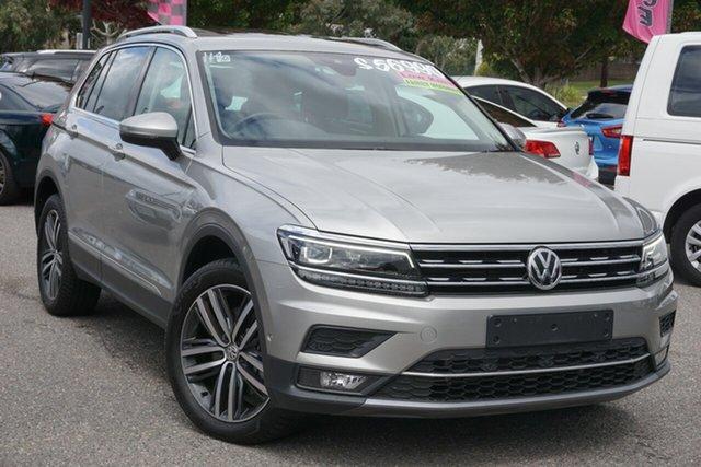 Used Volkswagen Tiguan 5N MY19.5 162TSI DSG 4MOTION Highline Phillip, 2019 Volkswagen Tiguan 5N MY19.5 162TSI DSG 4MOTION Highline Silver 7 Speed