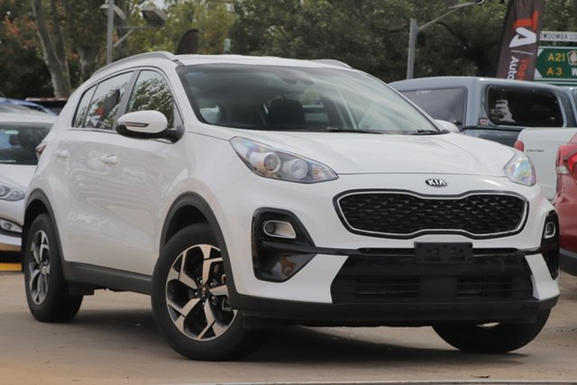 Used Kia Sportage QL MY19 Si 2WD Toowoomba, 2019 Kia Sportage QL MY19 Si 2WD White 6 Speed Sports Automatic Wagon
