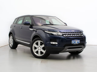 2014 Land Rover Range Rover Evoque LV MY15 TD4 Prestige Blue 9 Speed Automatic Wagon.