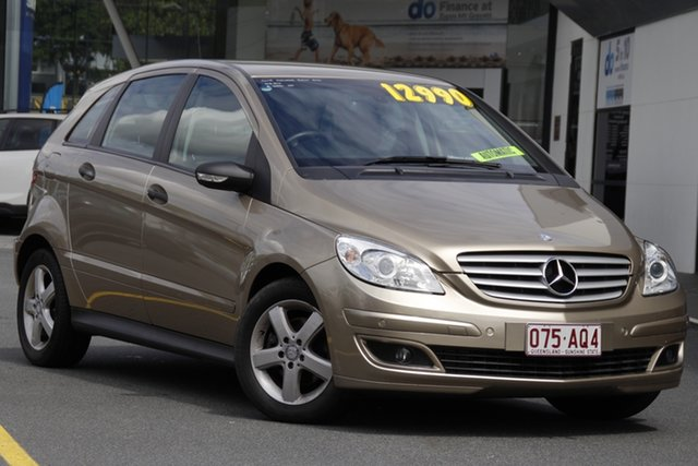 Used Mercedes-Benz B-Class W245 MY08 B200 Mount Gravatt, 2008 Mercedes-Benz B-Class W245 MY08 B200 Champagne 7 Speed Constant Variable Hatchback