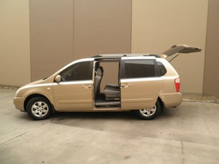 2008 Kia Carnival VQ MY08 EXE Champagne Beige 4 Speed Sports Automatic Wagon