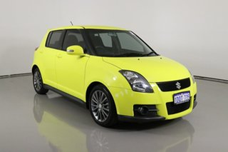 2011 Suzuki Swift EZ 07 Update Sport Yellow 5 Speed Manual Hatchback.