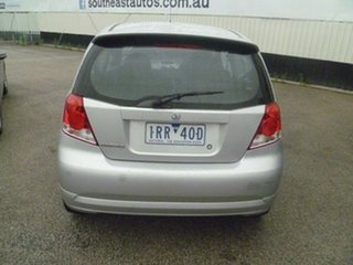 2007 Holden Barina TK MY07 Silver 5 Speed Manual Hatchback