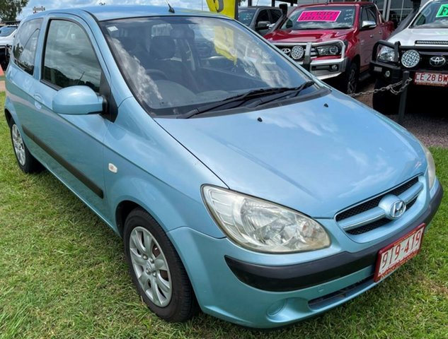 Used Hyundai Getz TB MY07 S Winnellie, 2008 Hyundai Getz TB MY07 S Blue 5 Speed Manual Hatchback