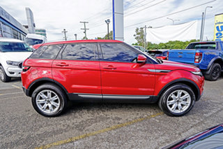 2013 Land Rover Range Rover Evoque L538 MY13 TD4 CommandShift Pure Red 6 Speed Sports Automatic
