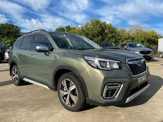 2018 Subaru Forester S4 MY18 2.5i-S CVT AWD Green 6 Speed Constant Variable Wagon.