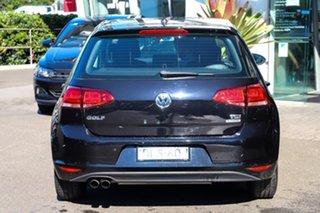 2017 Volkswagen Golf VII MY17 92TSI DSG Black 7 Speed Sports Automatic Dual Clutch Hatchback