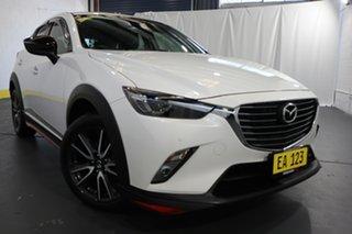2018 Mazda CX-3 DK4W7A Akari SKYACTIV-Drive i-ACTIV AWD LE White 6 Speed Sports Automatic Wagon.