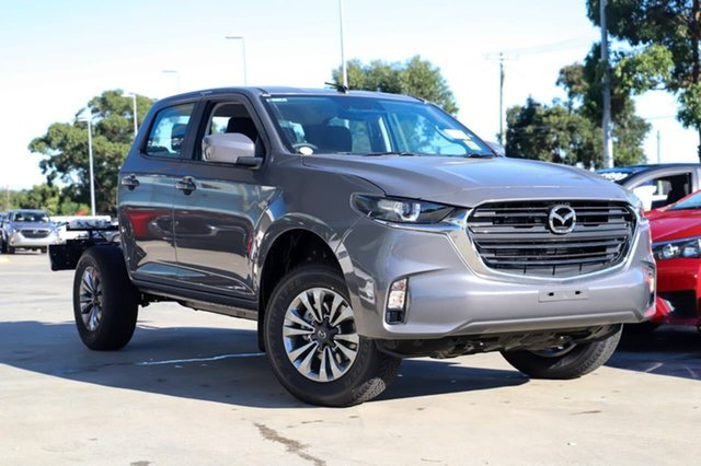 New Mazda BT-50 B30B XT (4x4) Kirrawee, 2020 Mazda BT-50 B30B XT (4x4) Concrete Grey 6 Speed Automatic Dual Cab Chassis