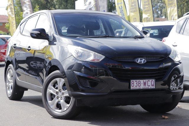 Used Hyundai ix35 LM MY12 Active Toowoomba, 2012 Hyundai ix35 LM MY12 Active Phantom Black 6 Speed Sports Automatic Wagon