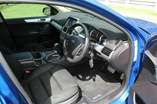 2013 Ford Falcon FG MkII XR6 Super Cab Blue 6 Speed Sports Automatic Cab Chassis