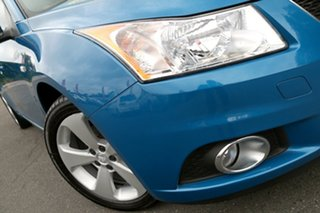 2013 Holden Cruze JH Series II MY14 Equipe Perfect Blue 5 Speed Manual Hatchback.