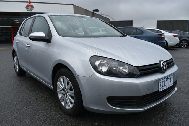 Used Volkswagen Golf VI MY12.5 90TSI DSG Trendline Wantirna South, 2012 Volkswagen Golf VI MY12.5 90TSI DSG Trendline Silver 7 Speed Sports Automatic Dual Clutch
