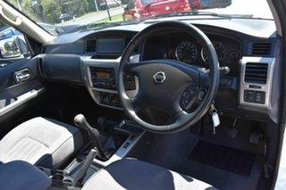 2013 Nissan Patrol GU VIII ST (4x4) White 5 Speed Manual Wagon