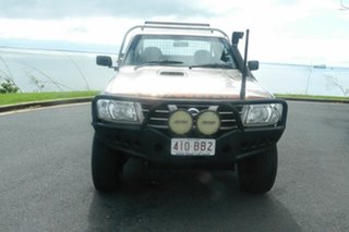 2006 Nissan Patrol GU II ST Gold 5 Speed Manual Cab Chassis