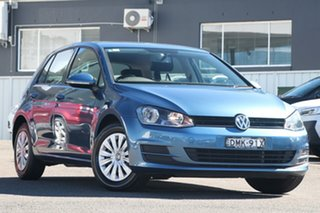 2017 Volkswagen Golf VII MY17 92TSI Trendline Blue 6 Speed Manual Hatchback.