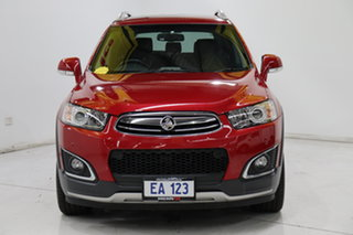 2014 Holden Captiva CG MY14 7 AWD LTZ Red/Black 6 Speed Sports Automatic Wagon.