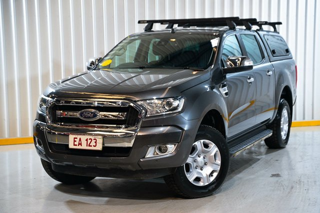 Used Ford Ranger PX MkII 2018.00MY XLT Double Cab Hendra, 2018 Ford Ranger PX MkII 2018.00MY XLT Double Cab Grey 6 Speed Sports Automatic Utility