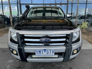 2011 Ford Ranger PX XLT 3.2 (4x4) Black 6 Speed Automatic Double Cab Pick Up.