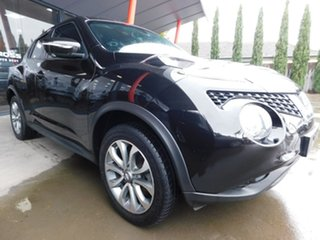 2015 Nissan Juke F15 Series 2 Ti-S 2WD Black 6 Speed Manual Hatchback.