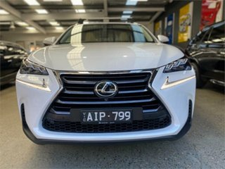 2016 Lexus NX AGZ15R NX200t Sports Luxury White Sports Automatic Wagon.