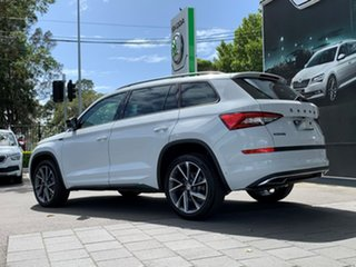 2020 Skoda Kodiaq NS MY20.5 132TSI DSG Sportline White 7 Speed Sports Automatic Dual Clutch Wagon