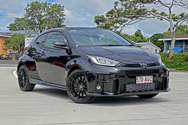 Used Toyota Yaris Gxpa16R GR Capalaba, 2020 Toyota Yaris Gxpa16R GR Black 6 Speed Manual Hatchback