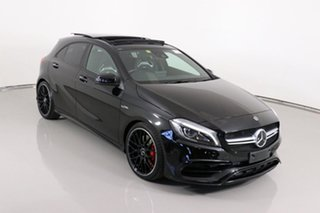 2017 Mercedes-AMG A 45 176 MY17.5 4Matic Black 7 Speed Auto Dual Clutch Hatchback