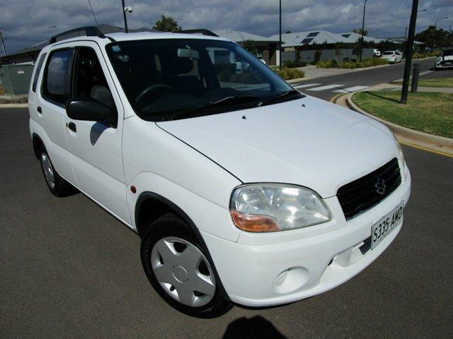 Used Suzuki Ignis GL Glenelg, 2003 Suzuki Ignis GL White 5 Speed Manual Hatchback