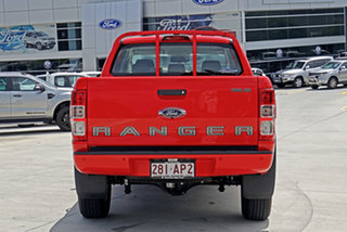 2020 Ford Ranger PX MkIII 2020.75MY XLS Red 6 Speed Sports Automatic Double Cab Pick Up