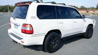 2005 Toyota Landcruiser UZJ100R Sahara Pearl White 5 Speed Automatic Wagon